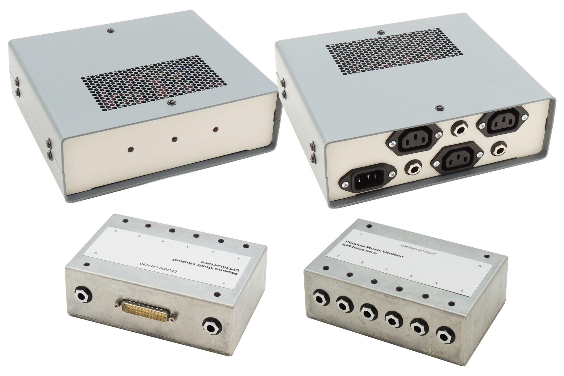 Yamaha GPI Custom Distribution and Mains Switch at Plasma Music