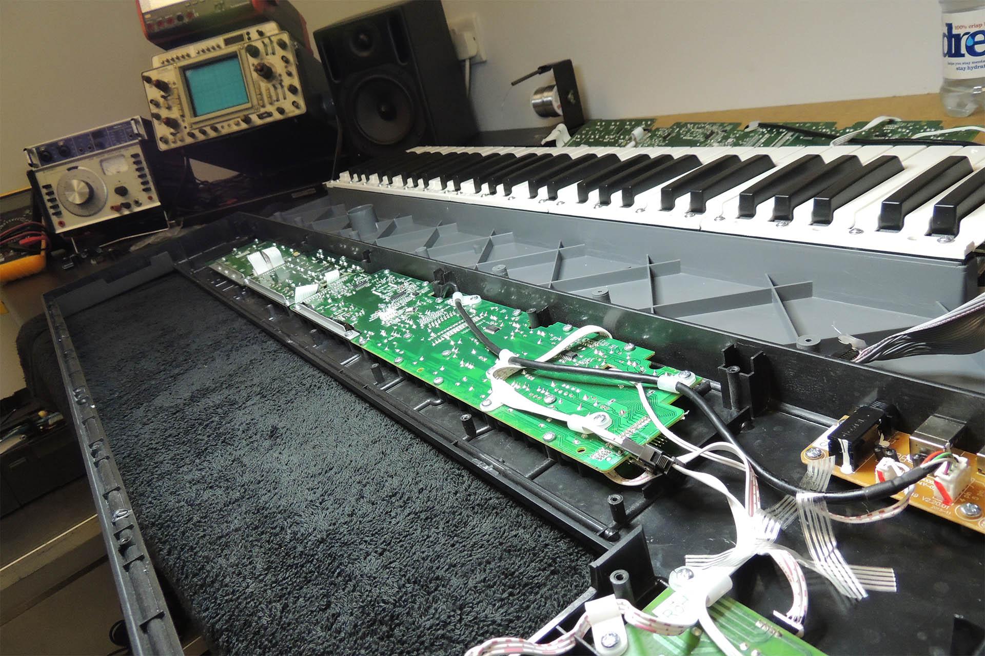 Nektar MIDI Controllers - best tech support ever from Nektar - keyboard repairs in Hertfordshire