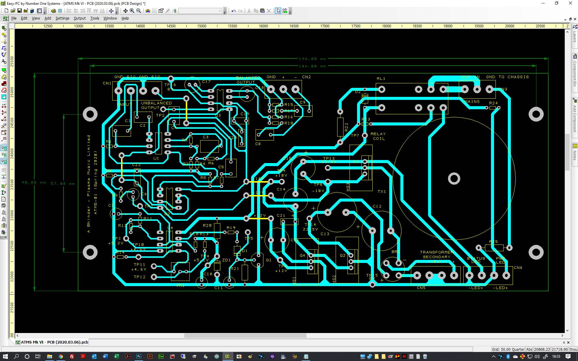 Custom designed electronics at Plasma Music