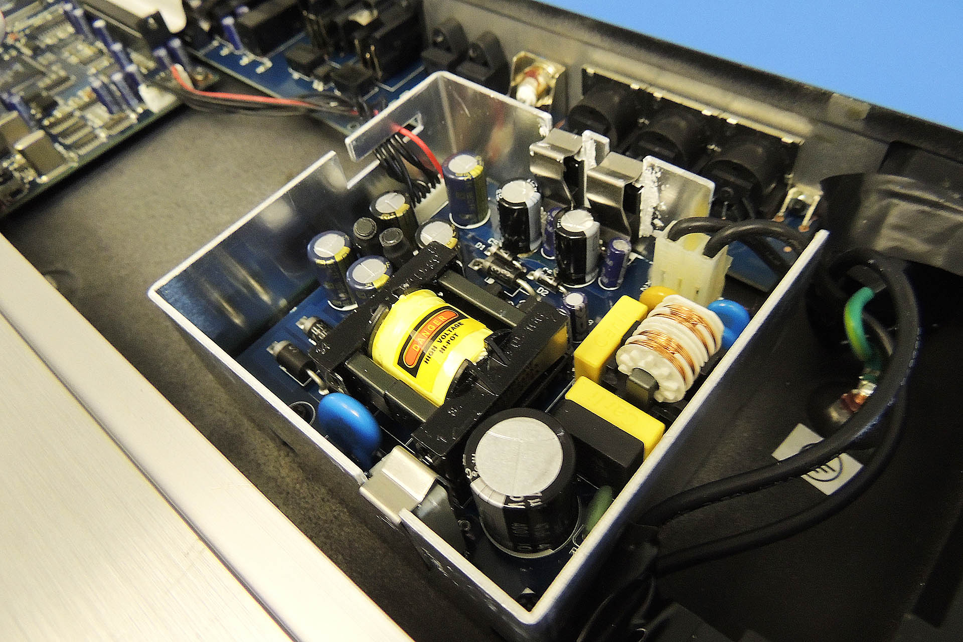 Behringer DEQ2496 power supply repair at Plasma Music