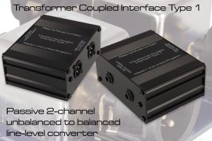 Transformer Coupled Interface Type 1 Unbalanced to Balanced Converter