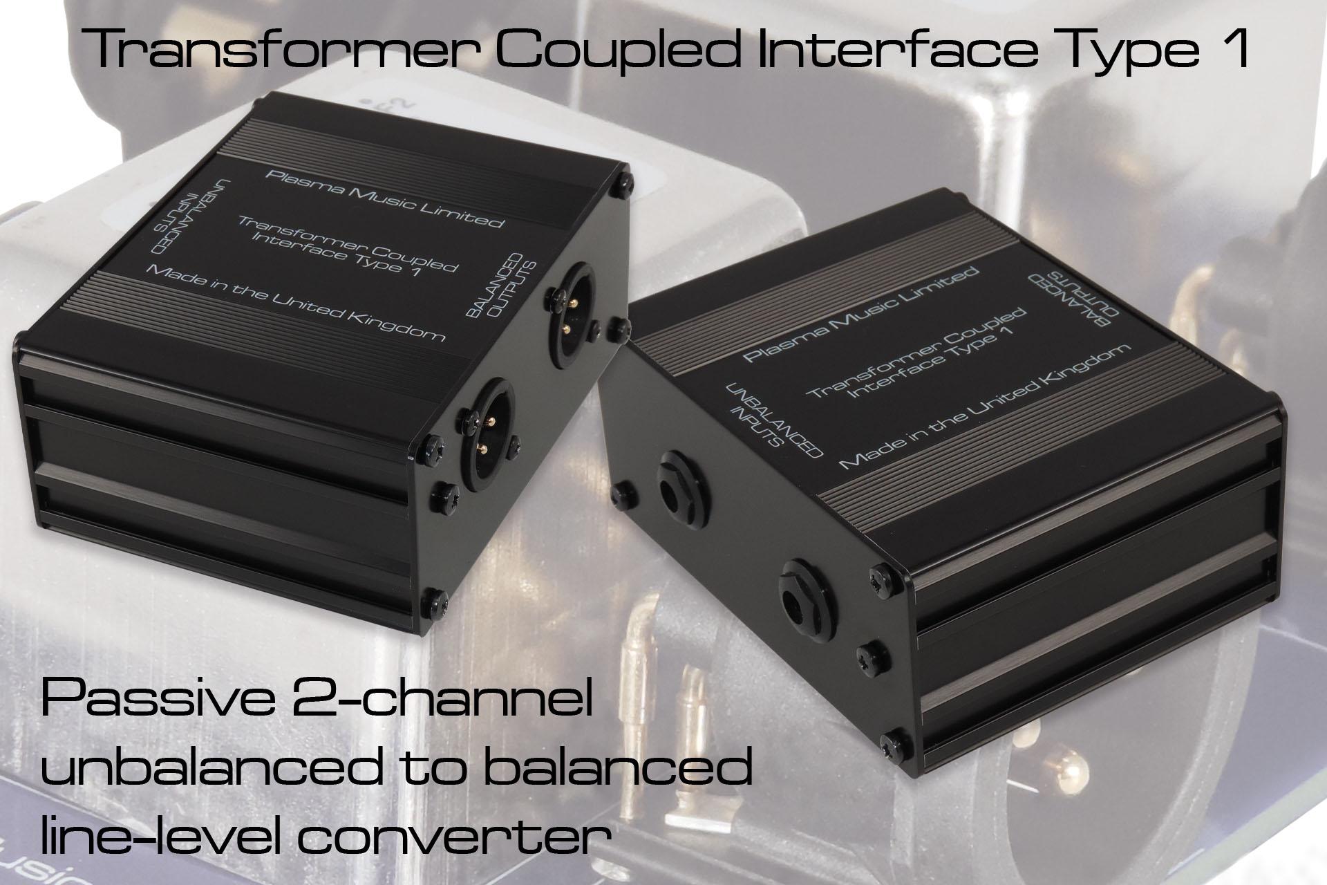 TCI Type 1 2-channel unbalanced to balanced converter