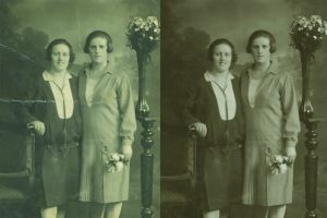 Photographic restoration at Plasma Music