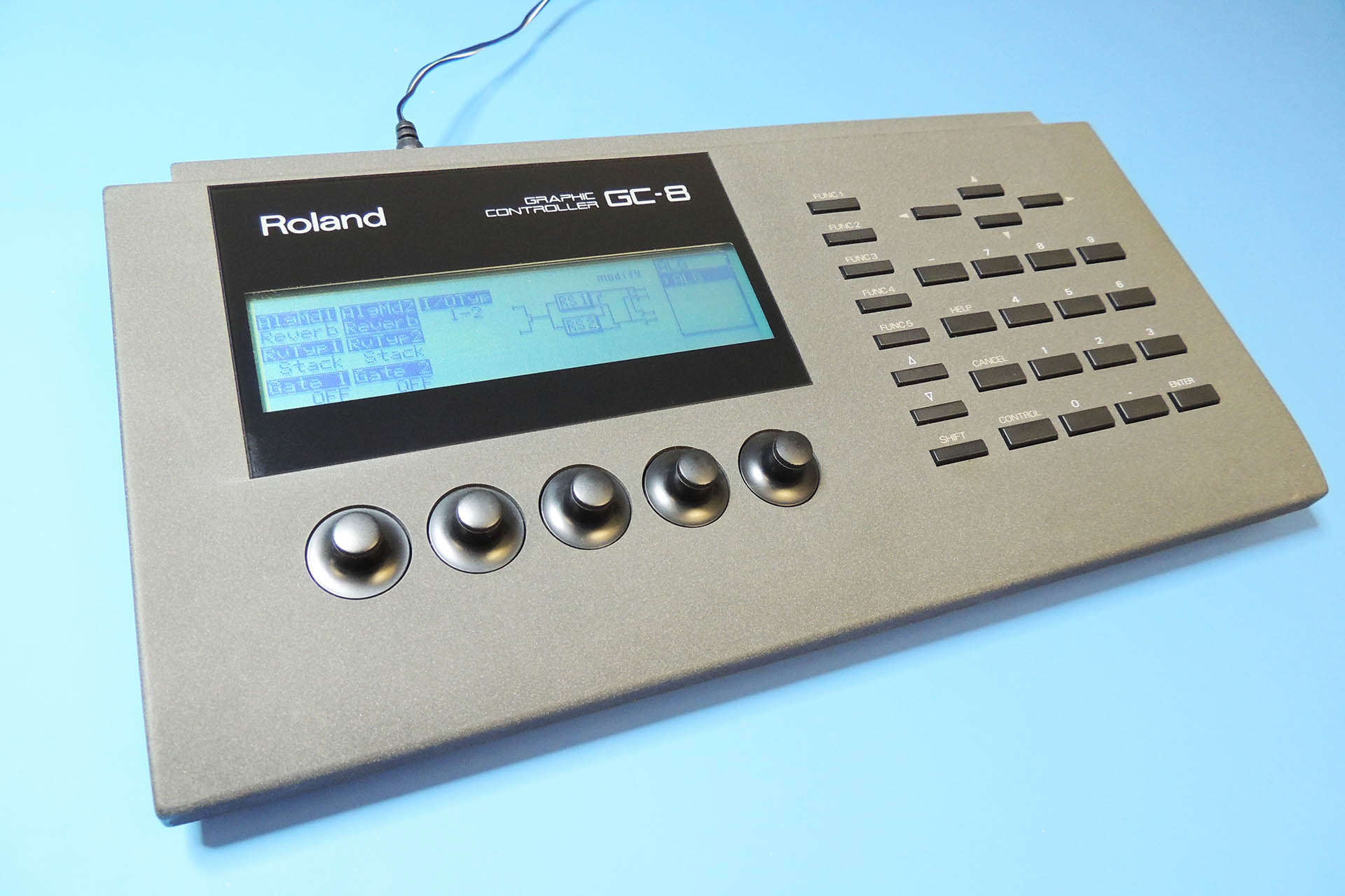 Roland GC-8 with fully working LCD backlight