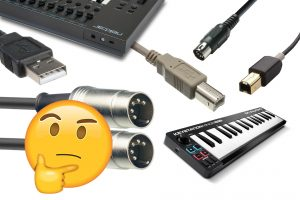 USB MIDI Keyboard to MIDI Hardware How To