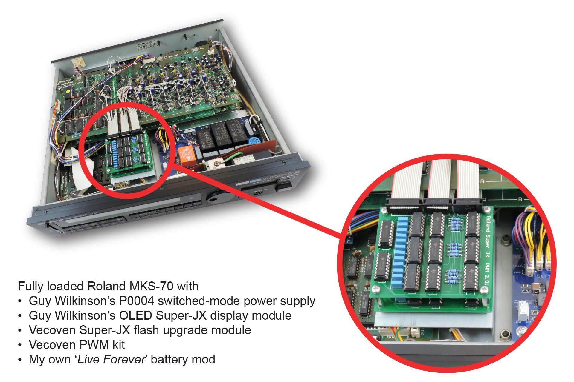 Custom mounting bracket for Vecoven PWM mod for MKS-70 installed