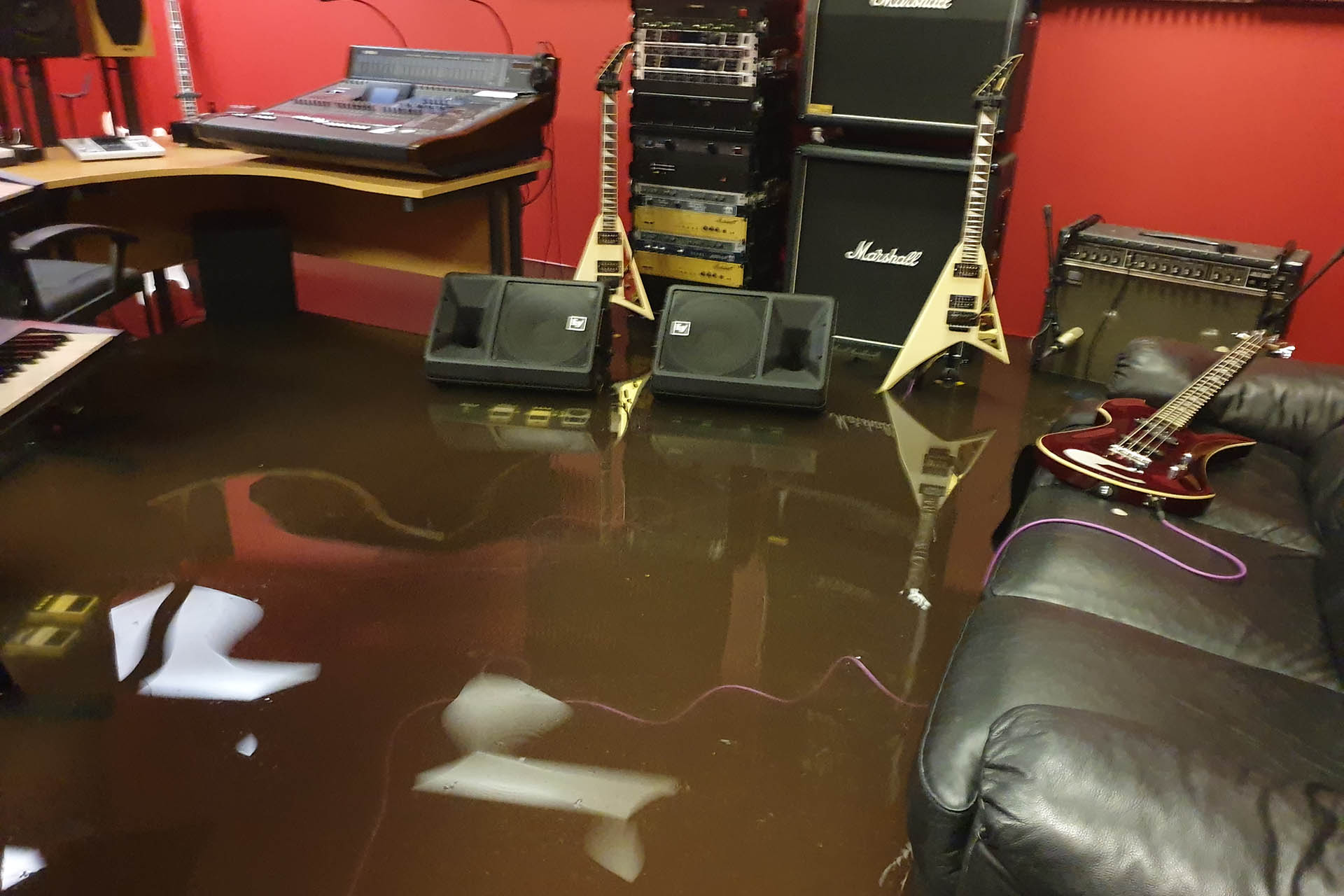 Flooded - Plasma Music Control Room (2020.08.12)