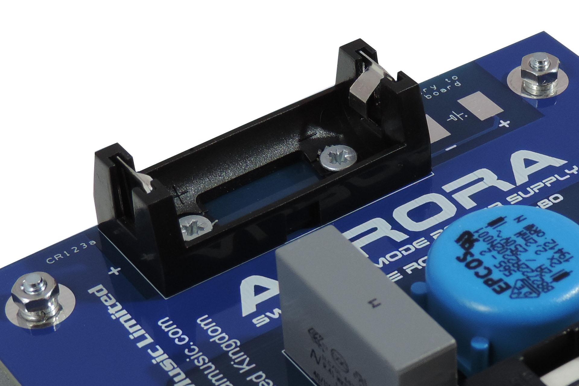 Aurora Bx Secured Battery Holder