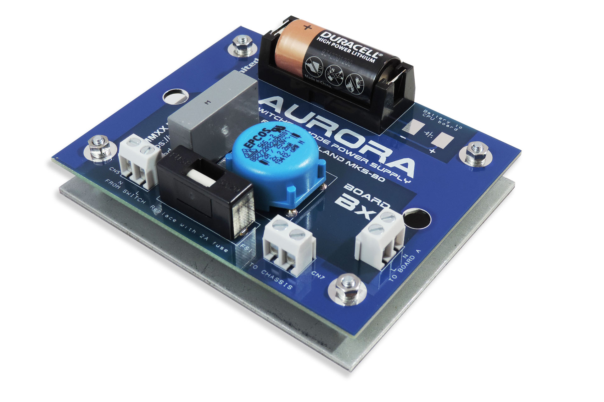 New Aurora Bx board with large capacity back-up battery