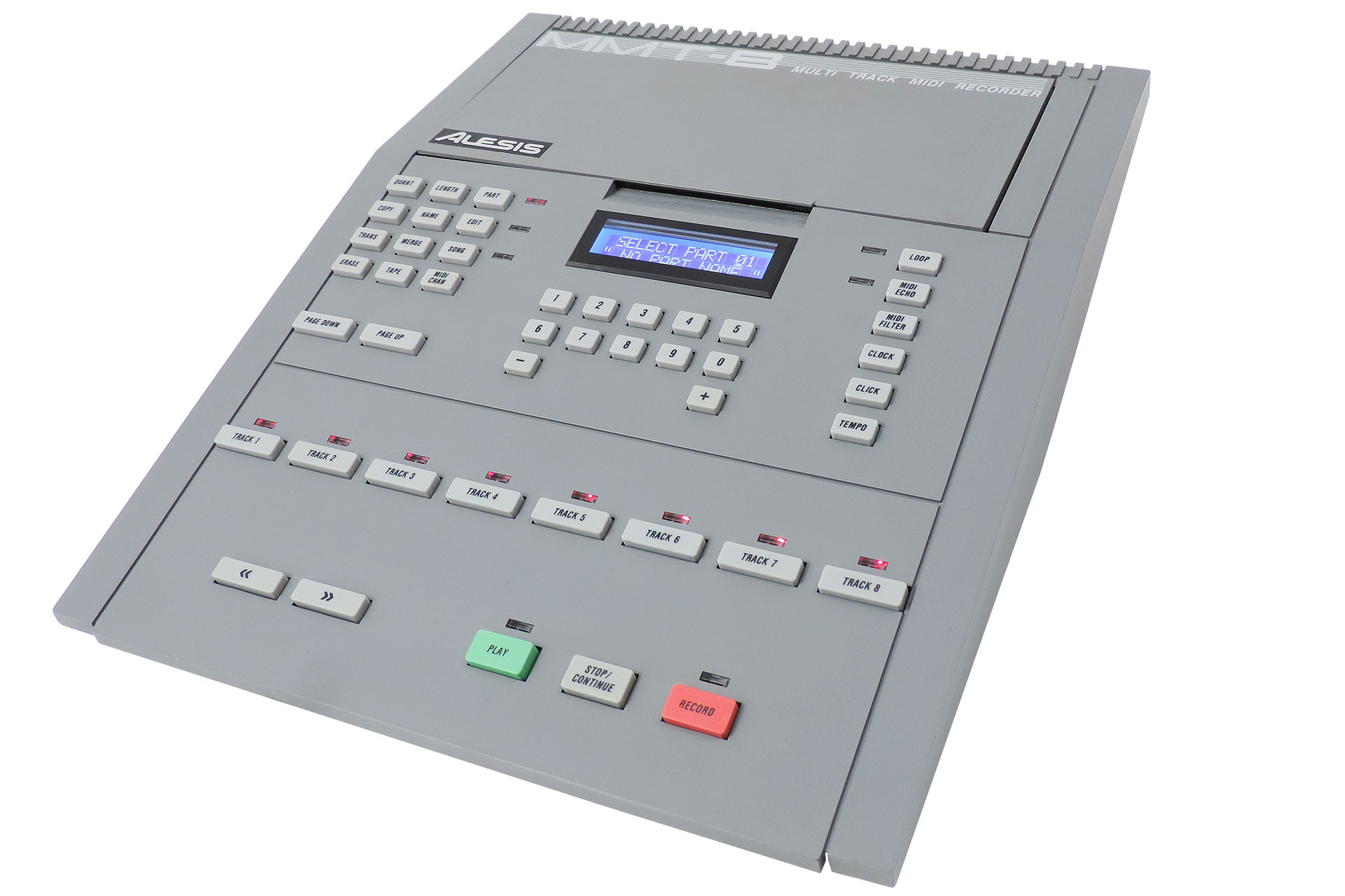An Alesis MMT-8 from the late eighties. Fully refurbished in 2020