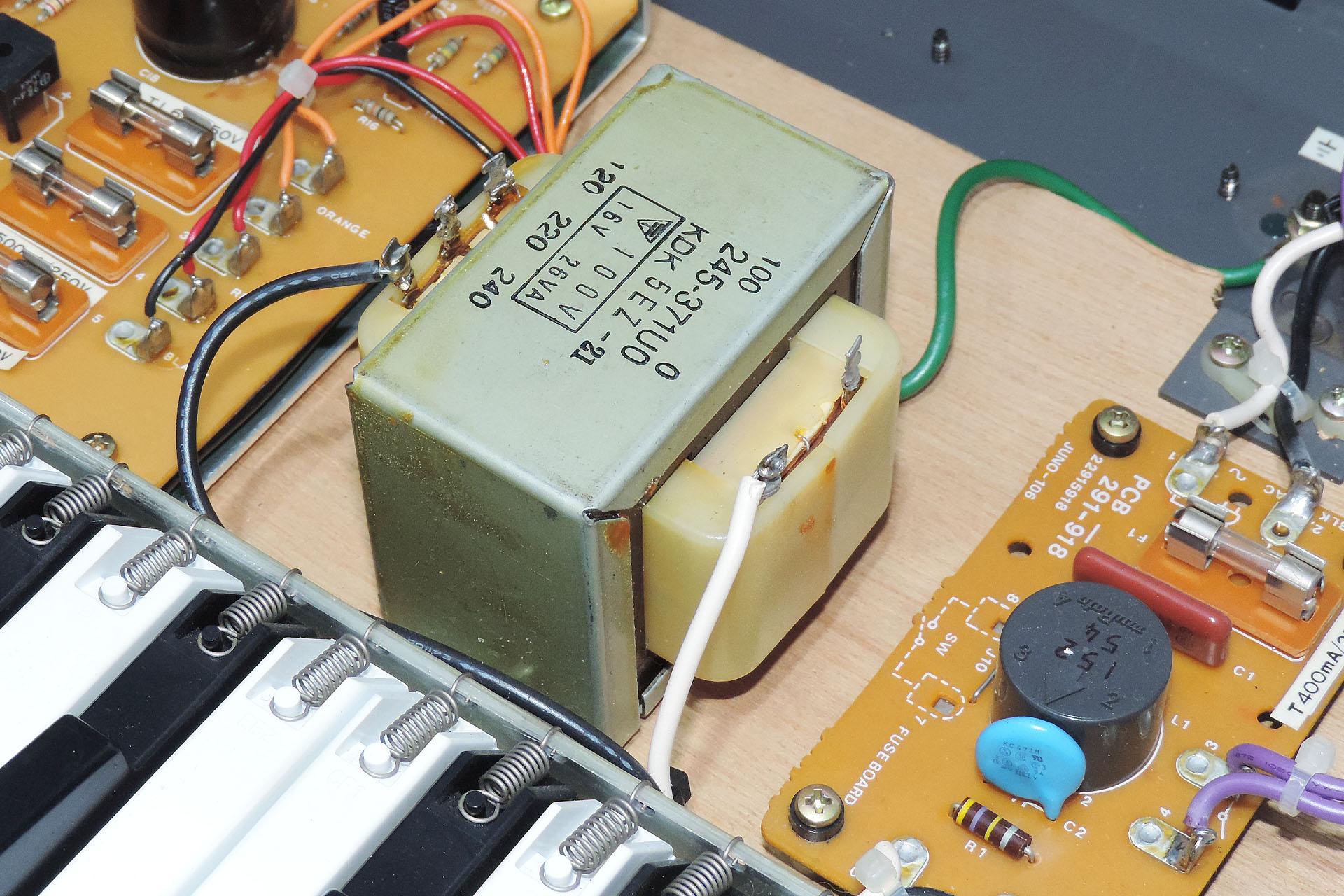 Juno-106 power transformer