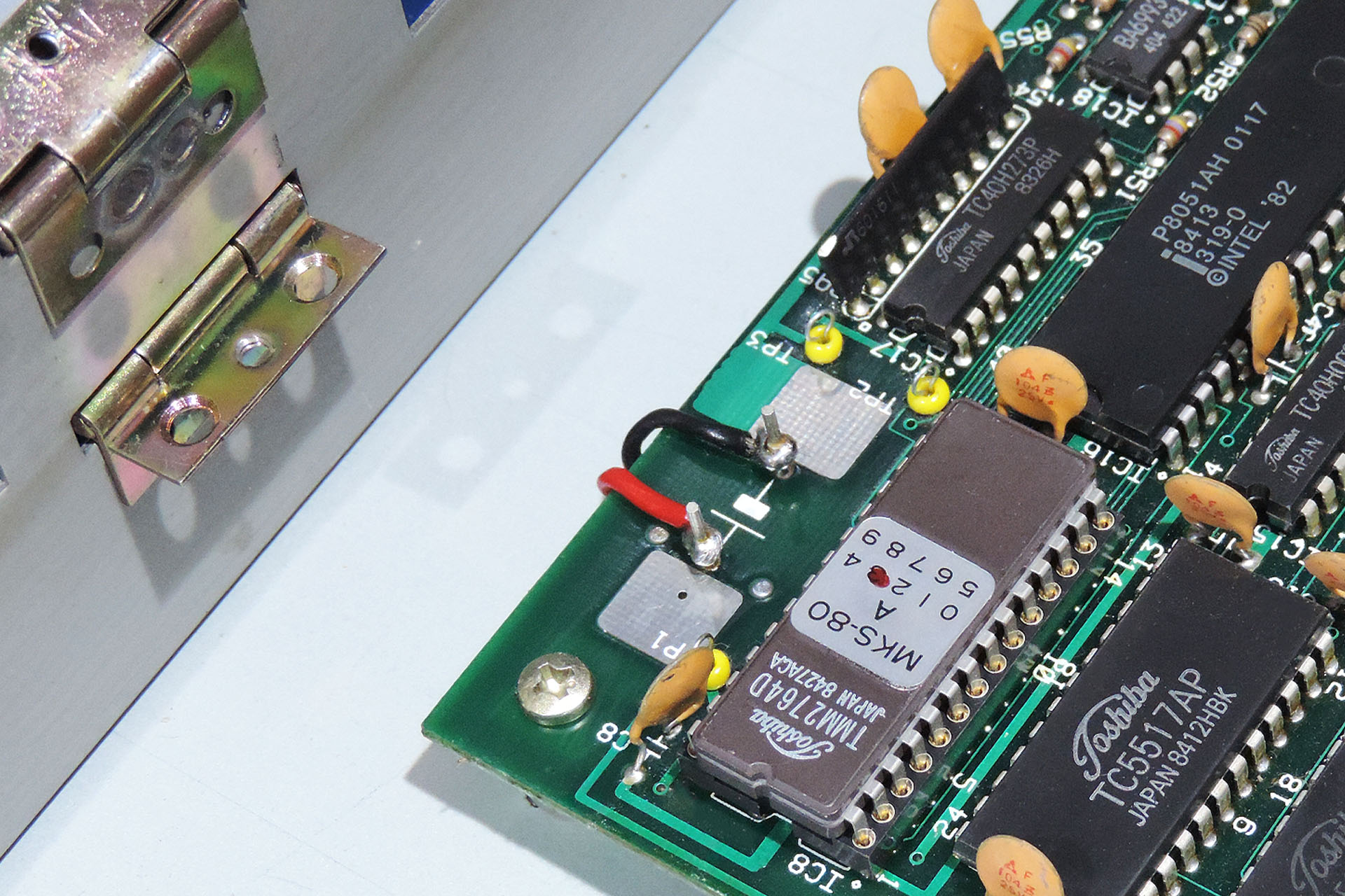 Live Forever battery mod on MKS-80 - CPU board connection