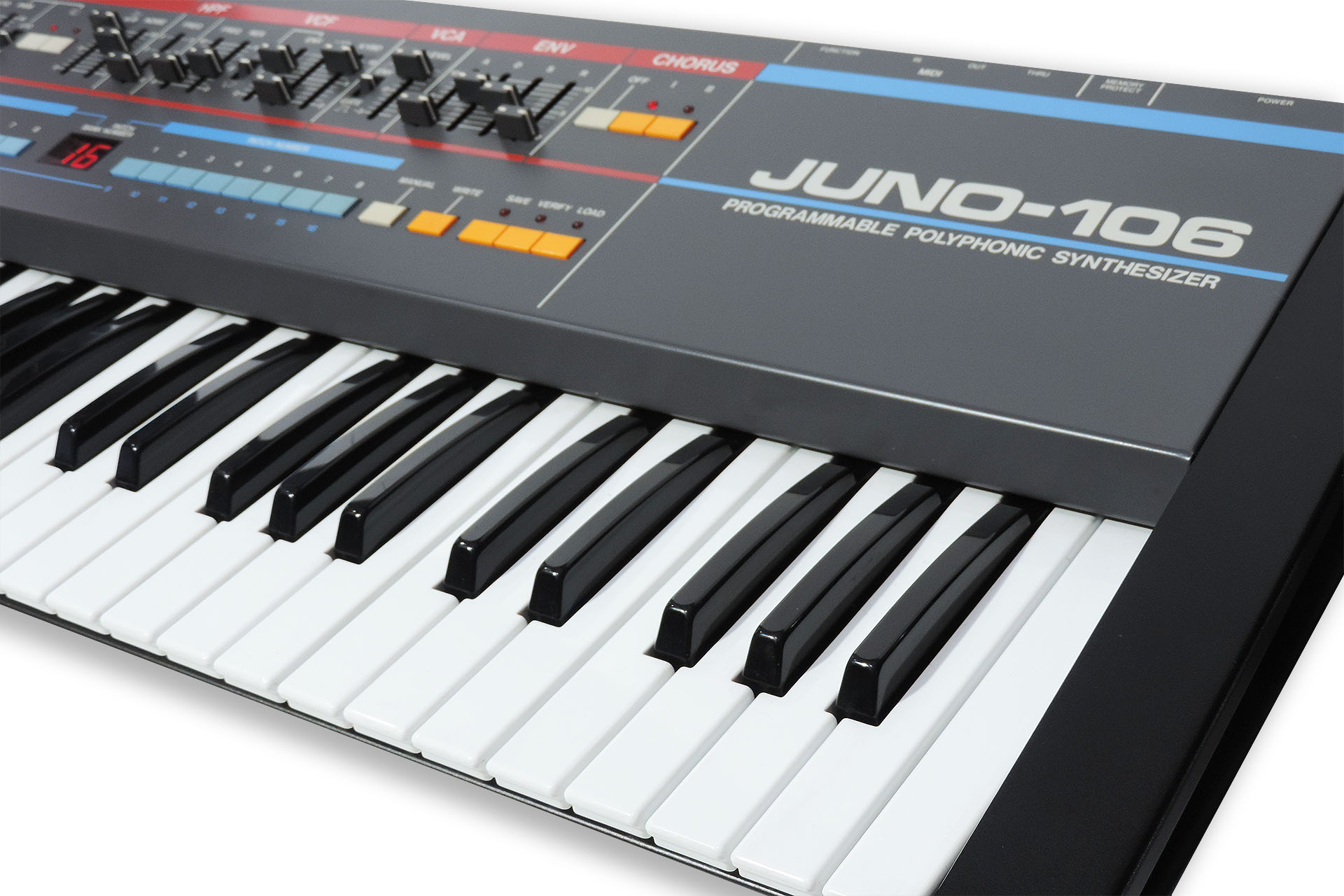 My favourite synth, the Roland Juno-106.