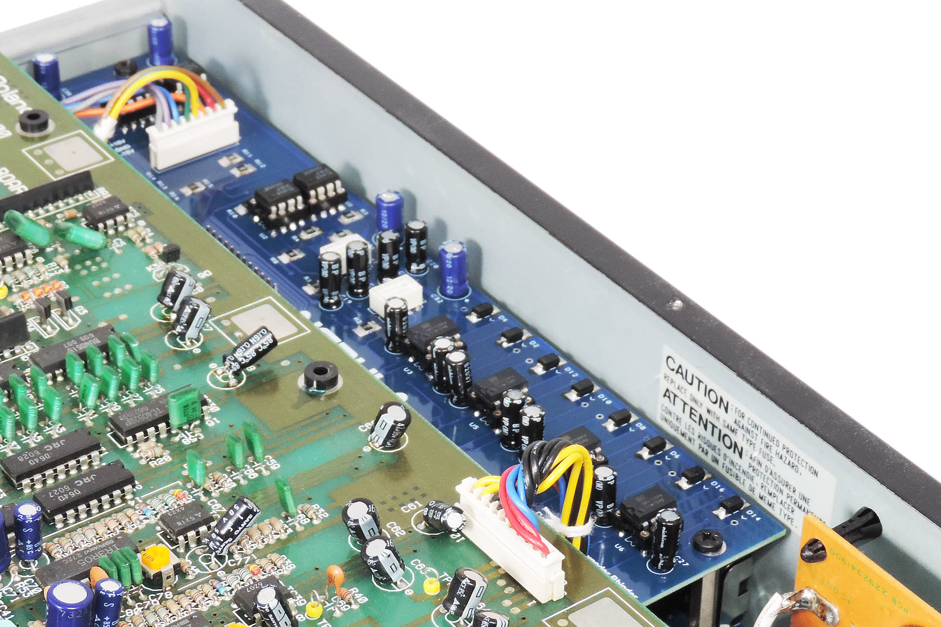 Nebula balanced outputs jack board for the Roland MKS-70
