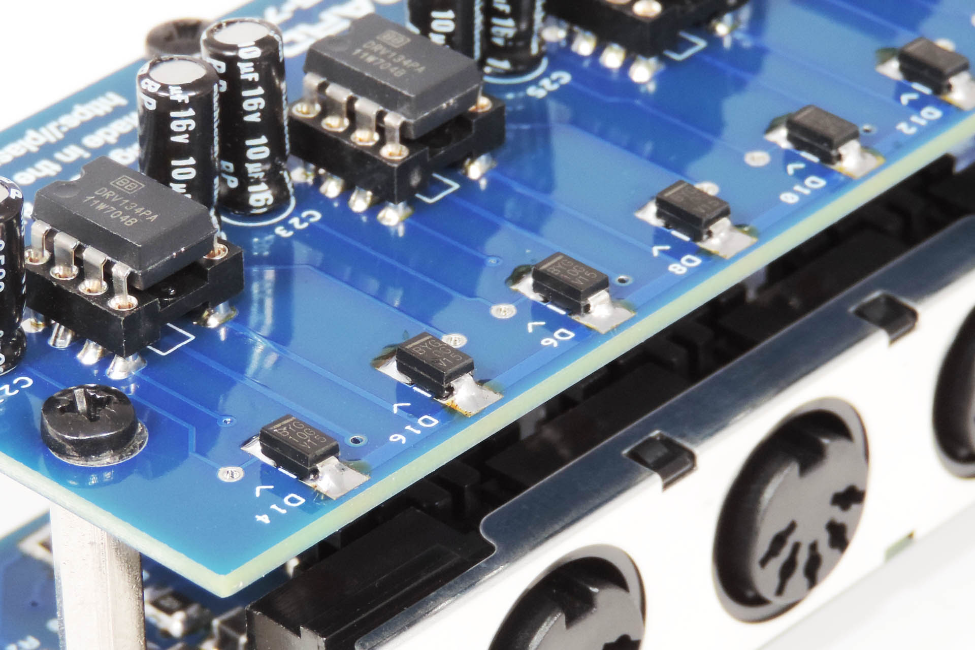 Nebula has diode protection on all output phases